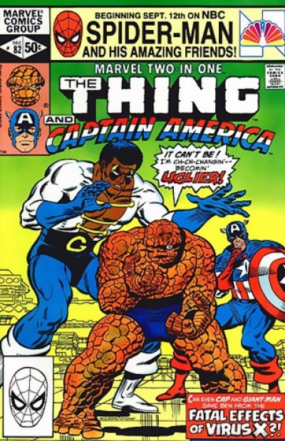 Marvel Two-In-One # 82