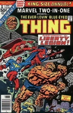 Marvel Two-in-One Annual # 1