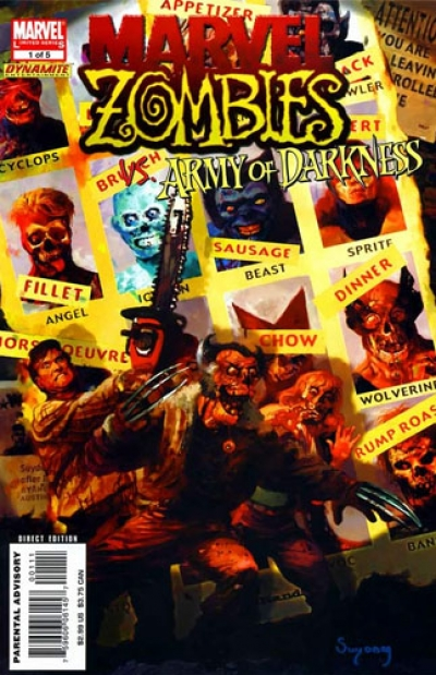Marvel Zombies/Army of Darkness # 1