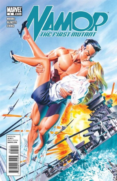 Namor: The First Mutant # 5