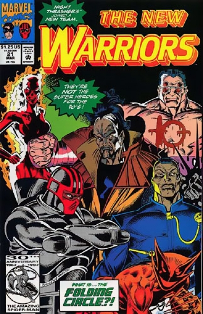 New Warriors vol 1 # 21