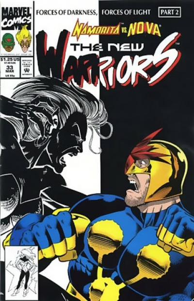 New Warriors vol 1 # 33
