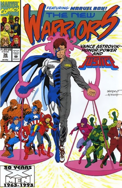 New Warriors vol 1 # 36