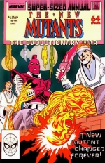 New Mutants Annual # 4