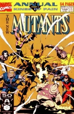 The New Mutants Annual # 7