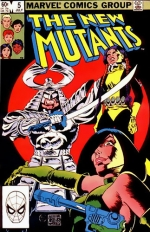 The New Mutants vol 1 # 5