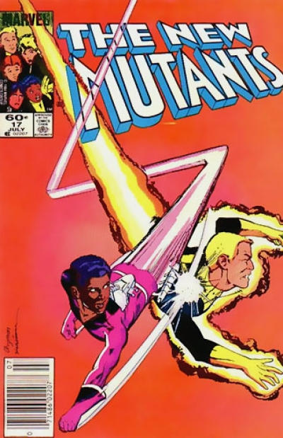 The New Mutants vol 1 # 17