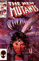The New Mutants vol 1 # 18