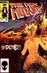 The New Mutants vol 1 # 20