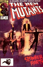 The New Mutants vol 1 # 21