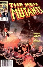 The New Mutants vol 1 # 22