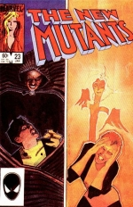 The New Mutants vol 1 # 23