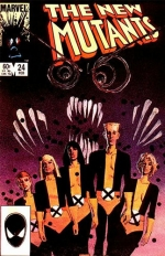The New Mutants vol 1 # 24