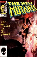 The New Mutants vol 1 # 25