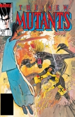 The New Mutants vol 1 # 27