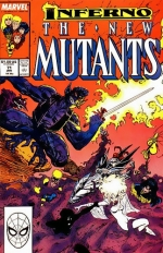 The New Mutants vol 1 # 71