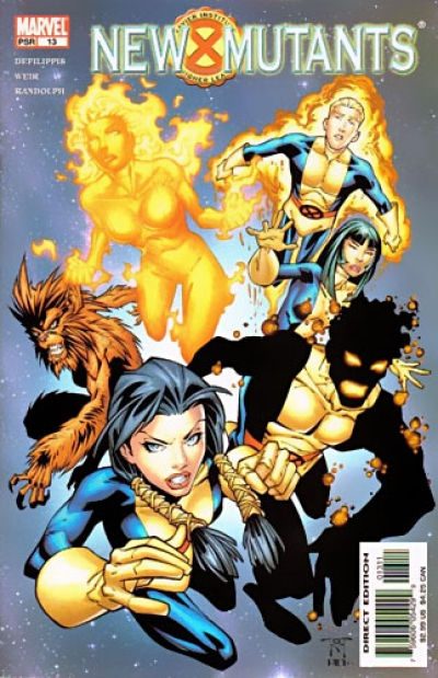 New Mutants vol 2 # 13