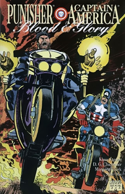 Punisher - Captain America: Blood And Glory # 2