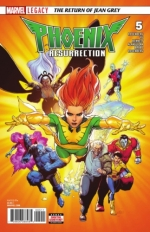 Phoenix Resurrection: The Return of Jean Grey # 5