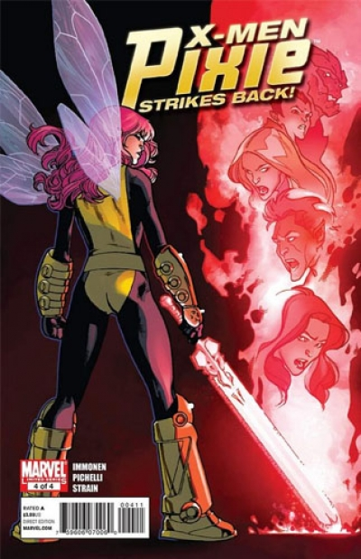 X-Men: Pixie Strikes Back # 4