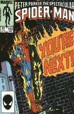 Peter Parker, Spectacular Spider-Man # 103