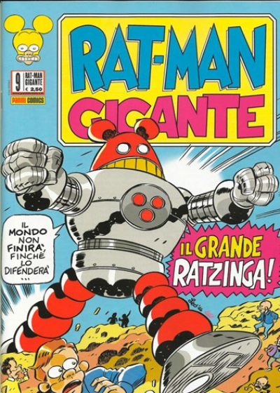 Rat-Man Gigante # 9