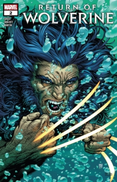 Return of Wolverine # 2
