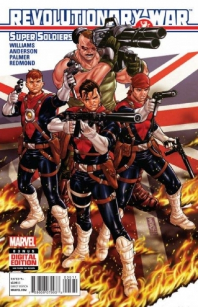 Revolutionary War: Super Soldiers # 1