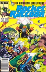 Rocket Raccoon vol 1 # 3
