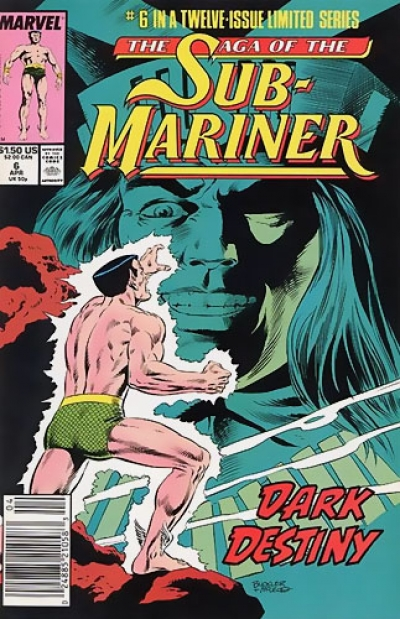 Saga of the Sub-Mariner # 6