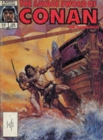 Savage Sword of Conan  # 129