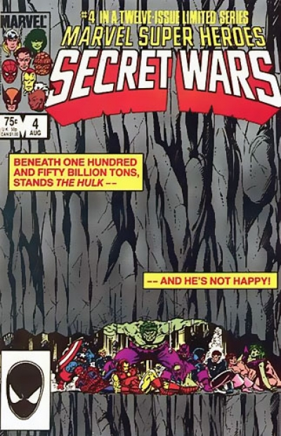 Marvel Super-Heroes Secret Wars # 4