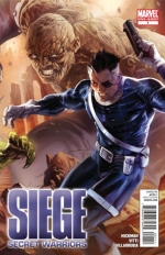 Siege: Secret Warriors # 1