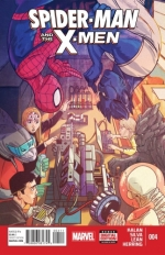 Spider-Man and the X-Men # 4