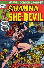 Shanna the She-Devil # 2