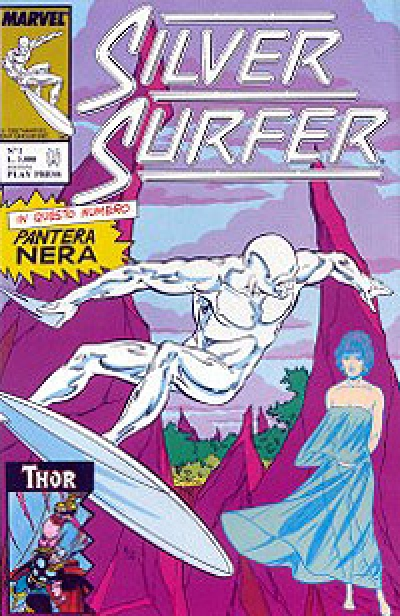 Silver Surfer (Play Press) # 2