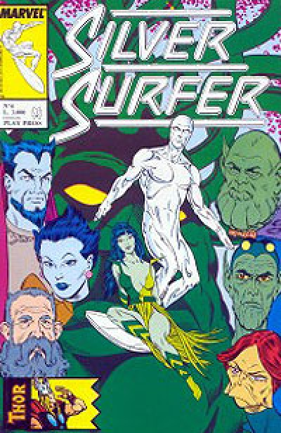 Silver Surfer (Play Press) # 6