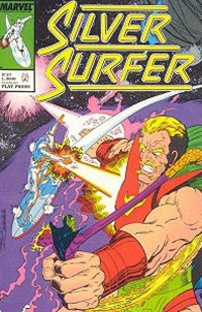 Silver Surfer (Play Press) # 27