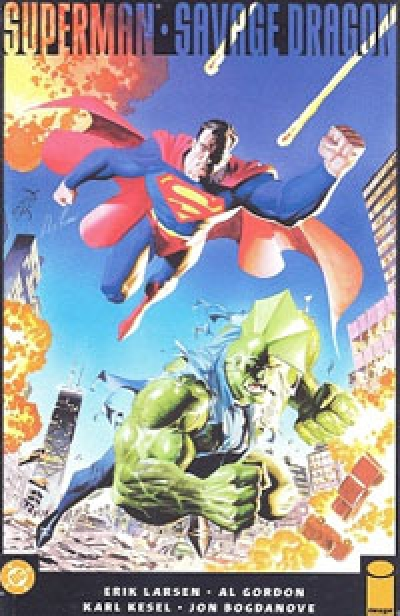 Superman/Savage Dragon # 1