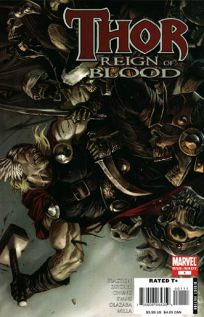 Thor Reign of Blood # 1