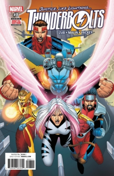 Thunderbolts vol 3 # 8