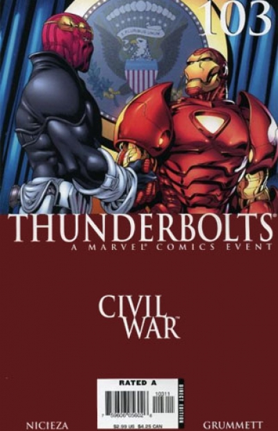 Thunderbolts vol 1 # 103