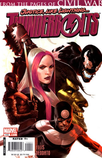 Thunderbolts vol 1 # 110