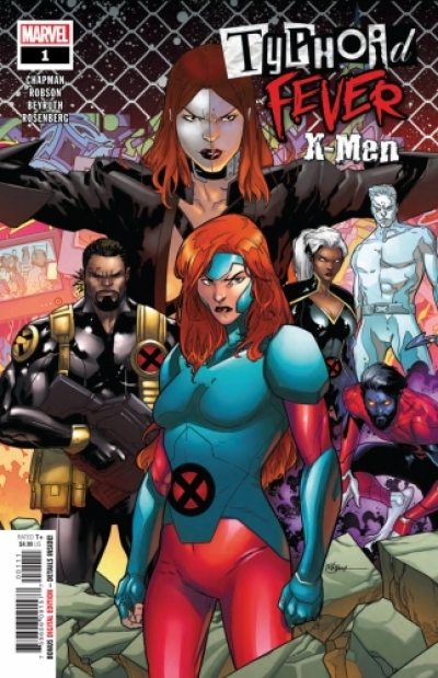 Typhoid Fever: X-Men # 1