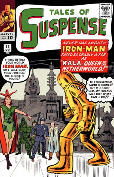 Tales Of Suspense # 43