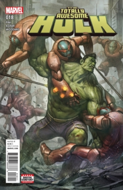 Totally Awesome Hulk # 18