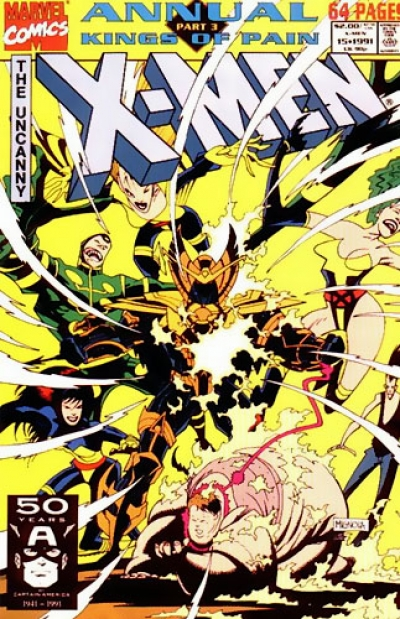 Uncanny X-Men Annual vol 1 # 15