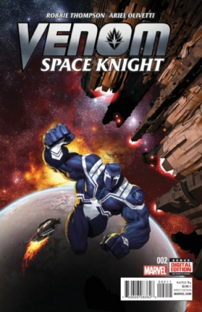 Venom Space Knight # 2