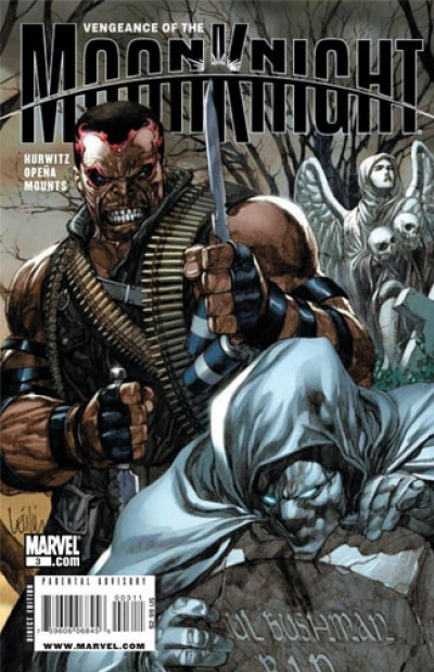 Vengeance Of The Moon Knight # 3