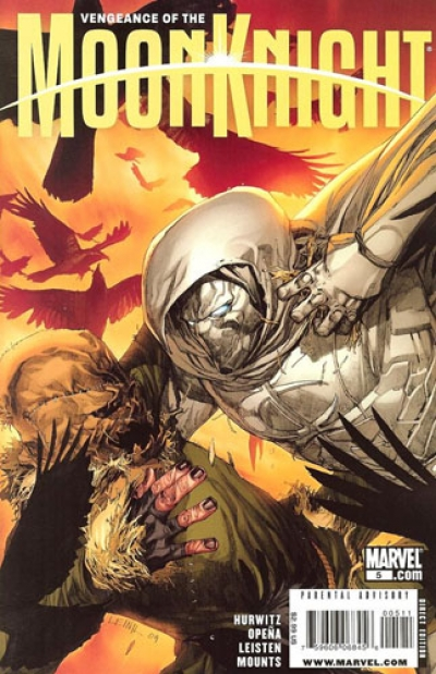 Vengeance Of The Moon Knight # 5
